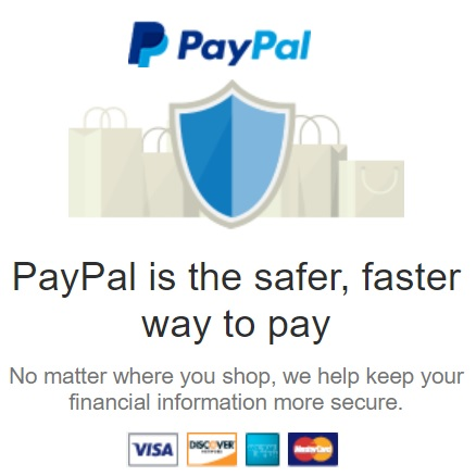 paypal secured payment checkout